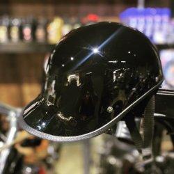 画像1: CHOPPERS オリジナル ギャングスターヘルメット ブラック